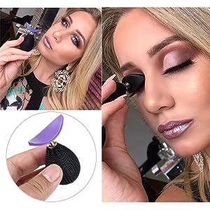 Eyeshadow Stamp Glittering Lazy Applicator Silicon Eyeshadow Seal