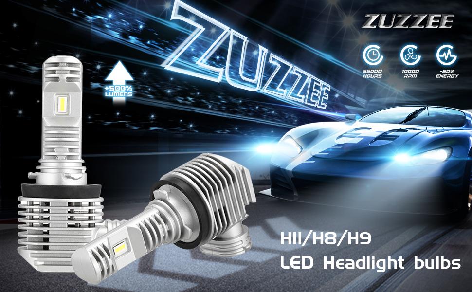 H11 H8 H9 led headlight bulbs