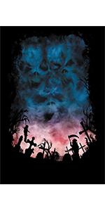 horror backdrop halloween