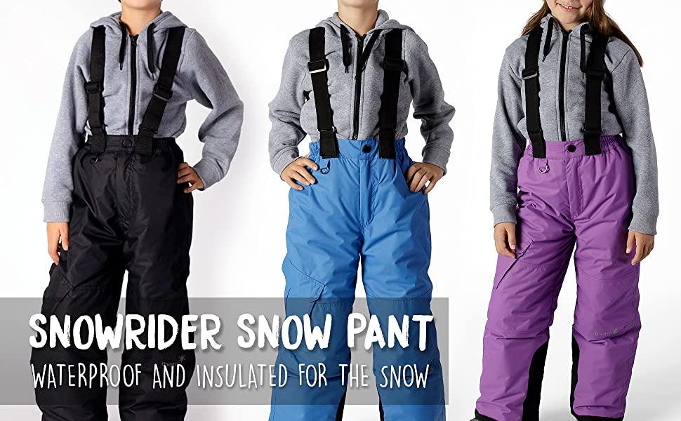 therm boys girls snow pant ski snowsuit skiing snowboarding winter coat kids waterproof youth ski