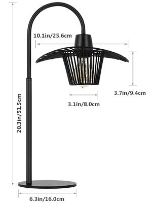 metal industrial lamp