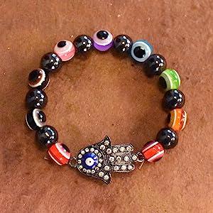 Hamsa Hand Evil Eye Bracelet Jewelry Making Instructions