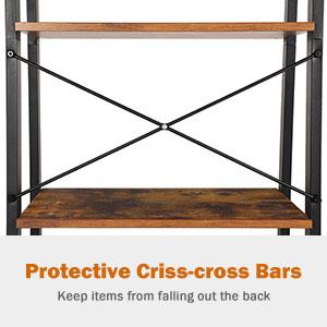 Protective Criss-cross Bars
