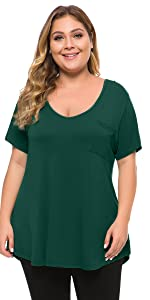 shirts for women plus size