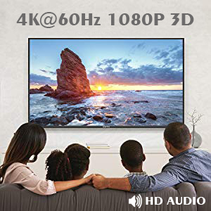 4K and 3D Compatible