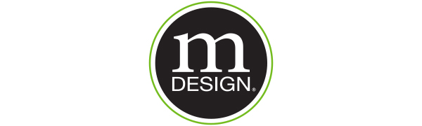 mDesign Metro Decor InterDesign Solutions with Style More Calm Less Clutter Logo Slogan Home Decor