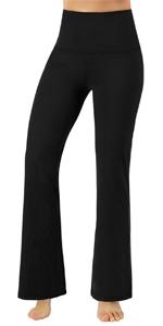 ODODOS Boot-cut Yoga Pants