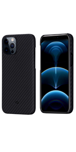 Magnetic iPhone 12 Pro Max Aramid Fiber Case