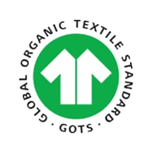 GOTS certified, organic cotton