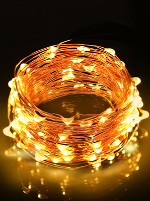 copper wire fairy string lights warm white christmas usb battery 100 led 33ft waterproof wedding diy