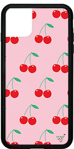 CHERRIES CASE FOR IPHONE 11 PRO MAX, IPHONE 6, IPHONE 7, 8