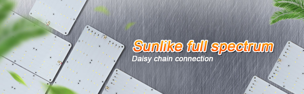 ACKE 50W grow light panel