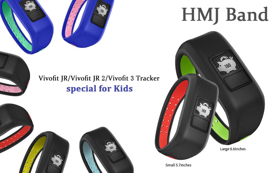 compatible for garmin vovift jr /jr 2 vivofit 3 bands