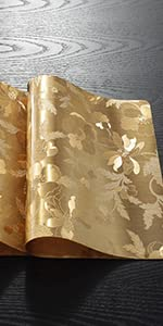 Placemats-Hibiscus Flower-Gold