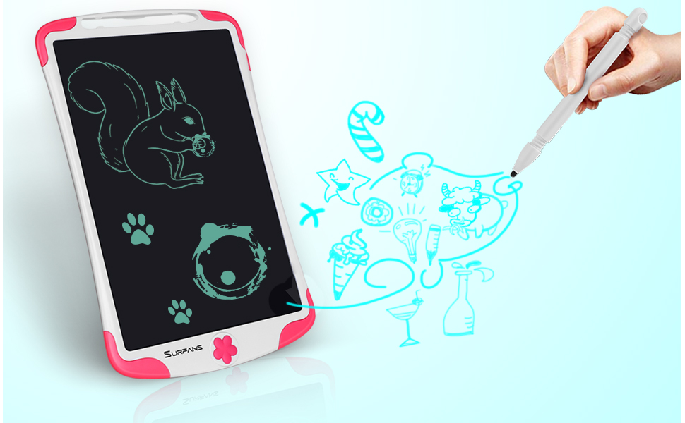 kids tablet writing drawing