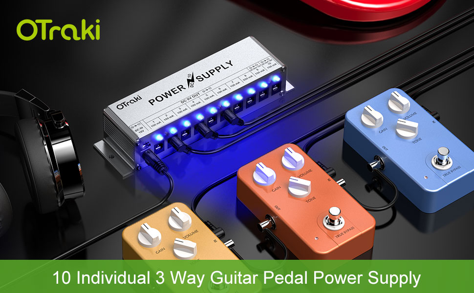 pedal power supply