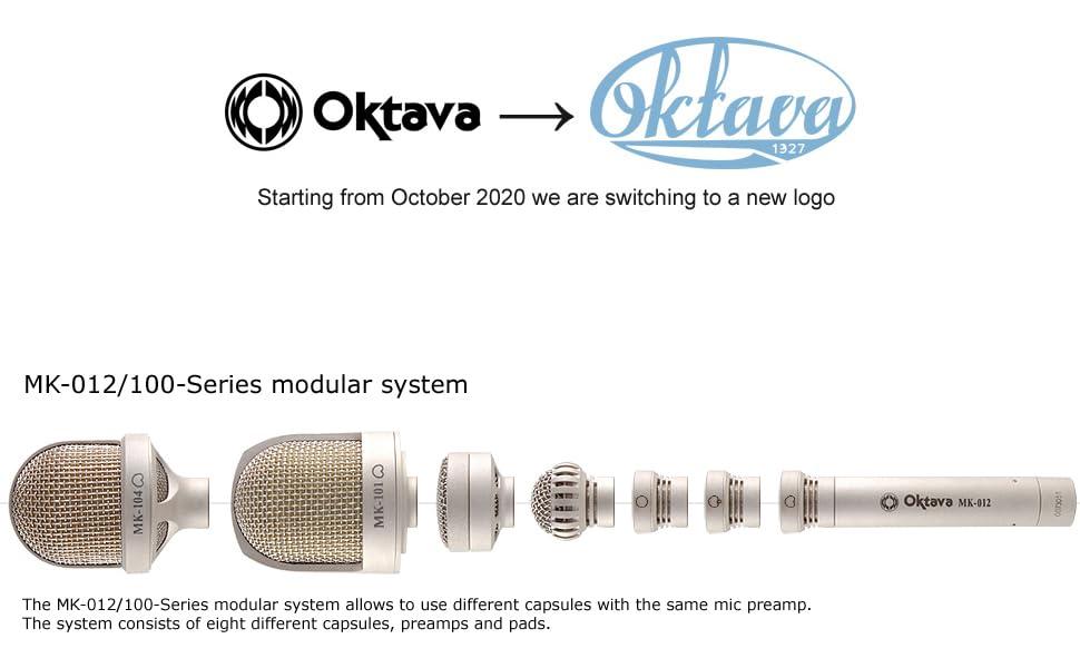 Oktava Logo MK-012 modular system