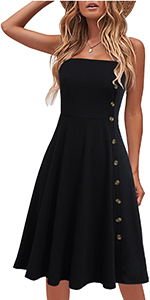 womens sundress button down dress sundresses for women black dress summer dresses skater dress aline