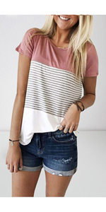 shirts for women casual short sleeve tops for women