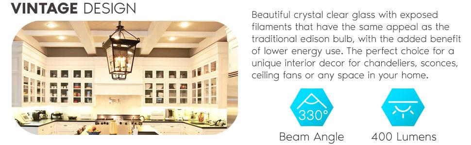 b10 b11 led light bulb e12 candelabra small base edison vintage indoor 40w 40 watt chandelier fan