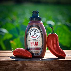 underwood ranches roja roasted jalapeno hot sauce no preservatives
