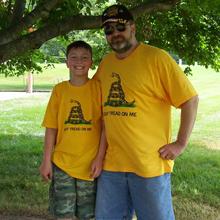 Tea Party Gadsden Shirt