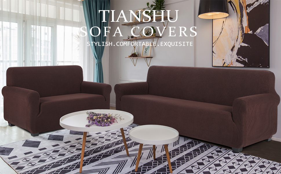brown sofa cover