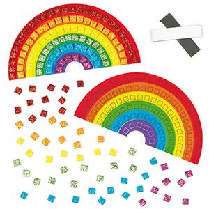 Rainbow Mosaic Crafts