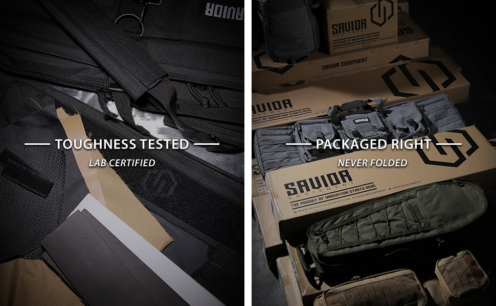 Toughness Tested, Packaged Right