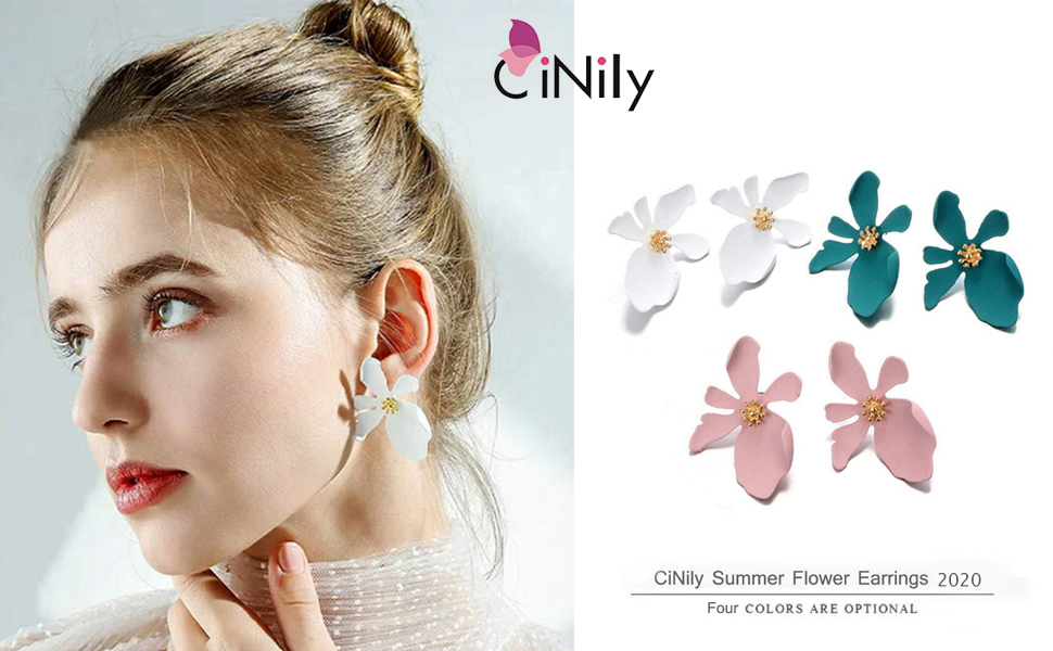 flower earrings for women girls