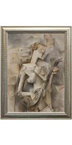 Girl with Mandolin, Picasso