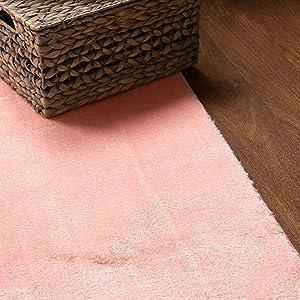 girls room rug pink