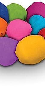 color balls color powder paint war summer fun holi powder