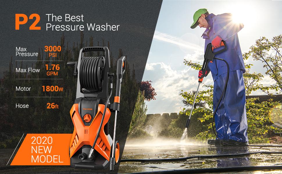 the best pressure washer
