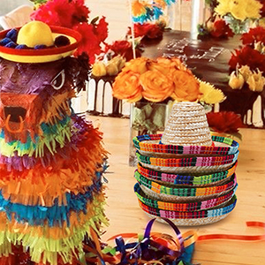 hats decorations party tabletop decorations