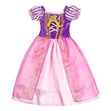 little girls dresses ruffle HG018-4