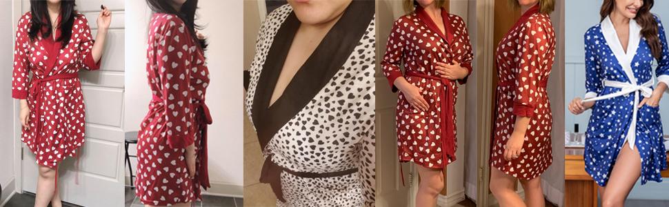 Women short robes
