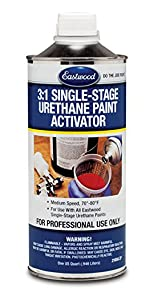 eastwood hard slow fast activator medium single stage urethane acrylic base top coat paint auto