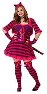 Plus size sexy wonderland cat costume, halloween, costume