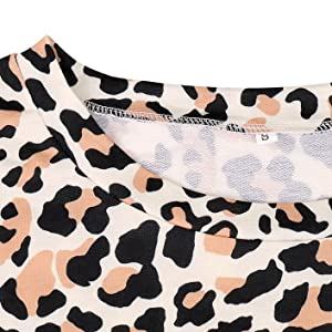Leopard Print Shirt Tops
