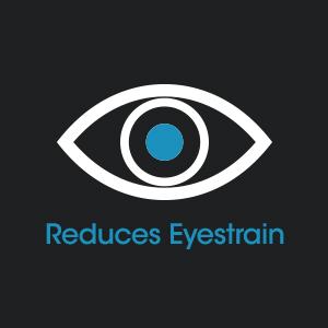 reduces eyestrain glare 51% natural balanced daylight led increased productivity mood lighting