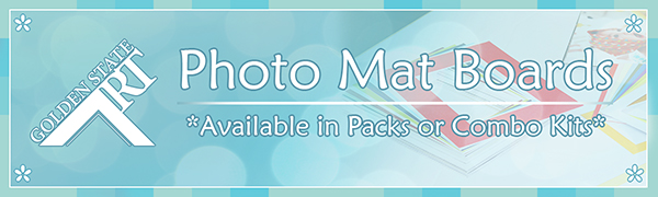 golden state art photo mat boards pack or combo kit color mattes