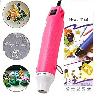 temperature gun heat epoxy resin case plastic wrap display air shrink tubing phone craft caulking