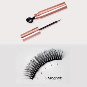 Magnetic Eyelashes With Eyeliner, Magnetic Eyeliner And Lashes, Magnetic Eyeliners With Advanced 3D