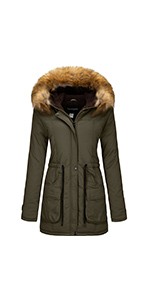 black winter coat women