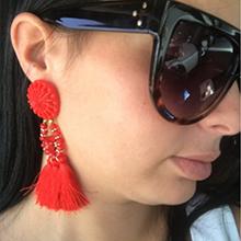 Bohemian-Long-Statement-Tassel-Drop-Earrings-Luxury-Resin-Beads