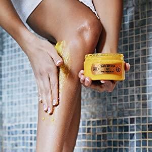 body scrub exfoliator for women bath salt essential oils shower gel cream oil body cream natural