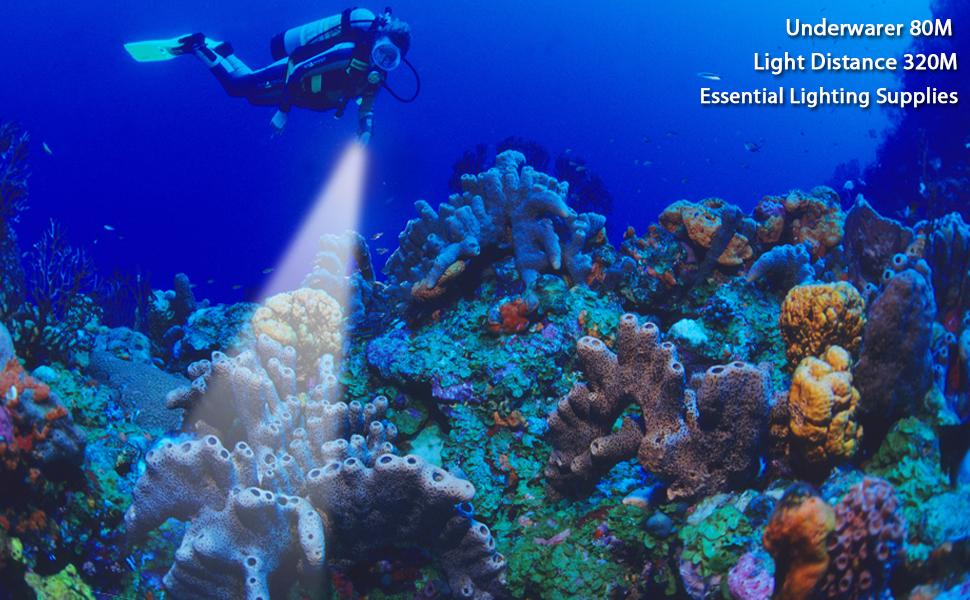 diving light