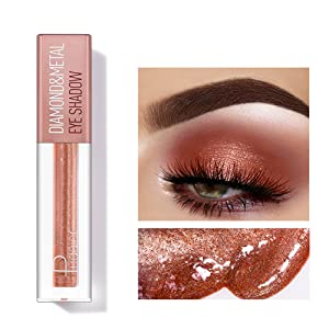 Glitter Liquid Eyeshadow Glitter Eyeliner Makeup Eyeshadow Liquid Set Long Lasting Eyeliner