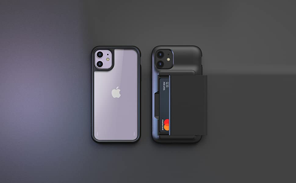 apple iphone 11 case wallet damda glide shield